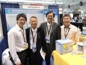 Attended American Academy of Otolaryngology annual meeting with Dr. HungCheng Tseng and other ENT specialists. [Boston, 2010]